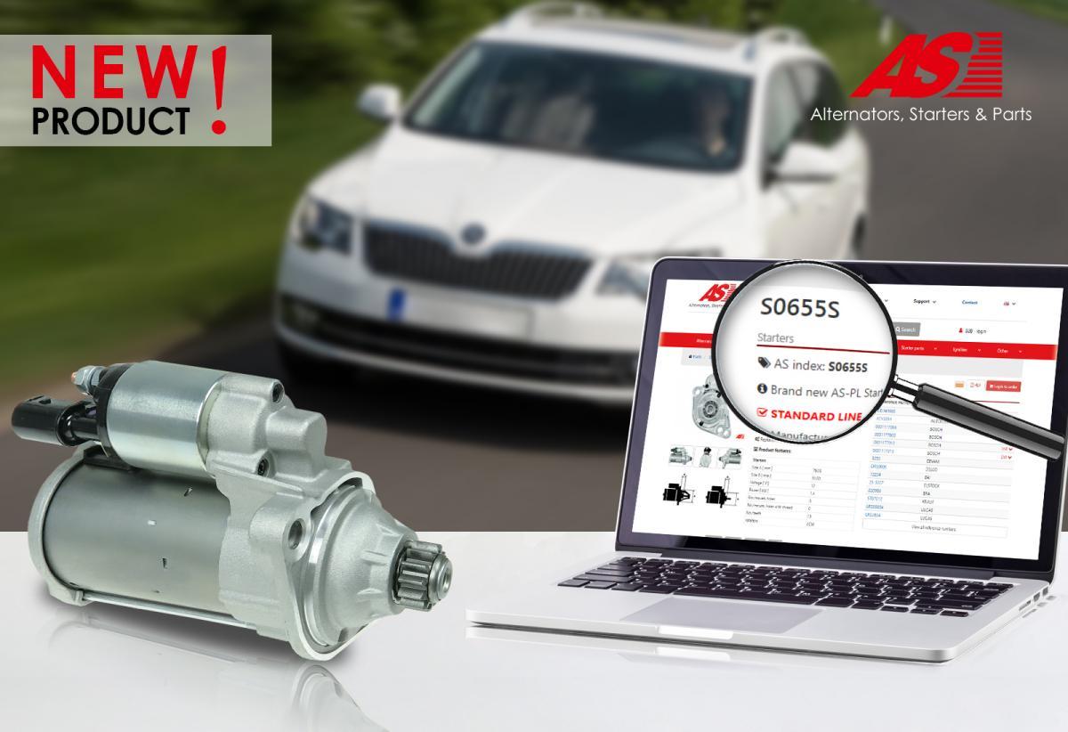 Nový startér AS-PL S0655S pro VW group