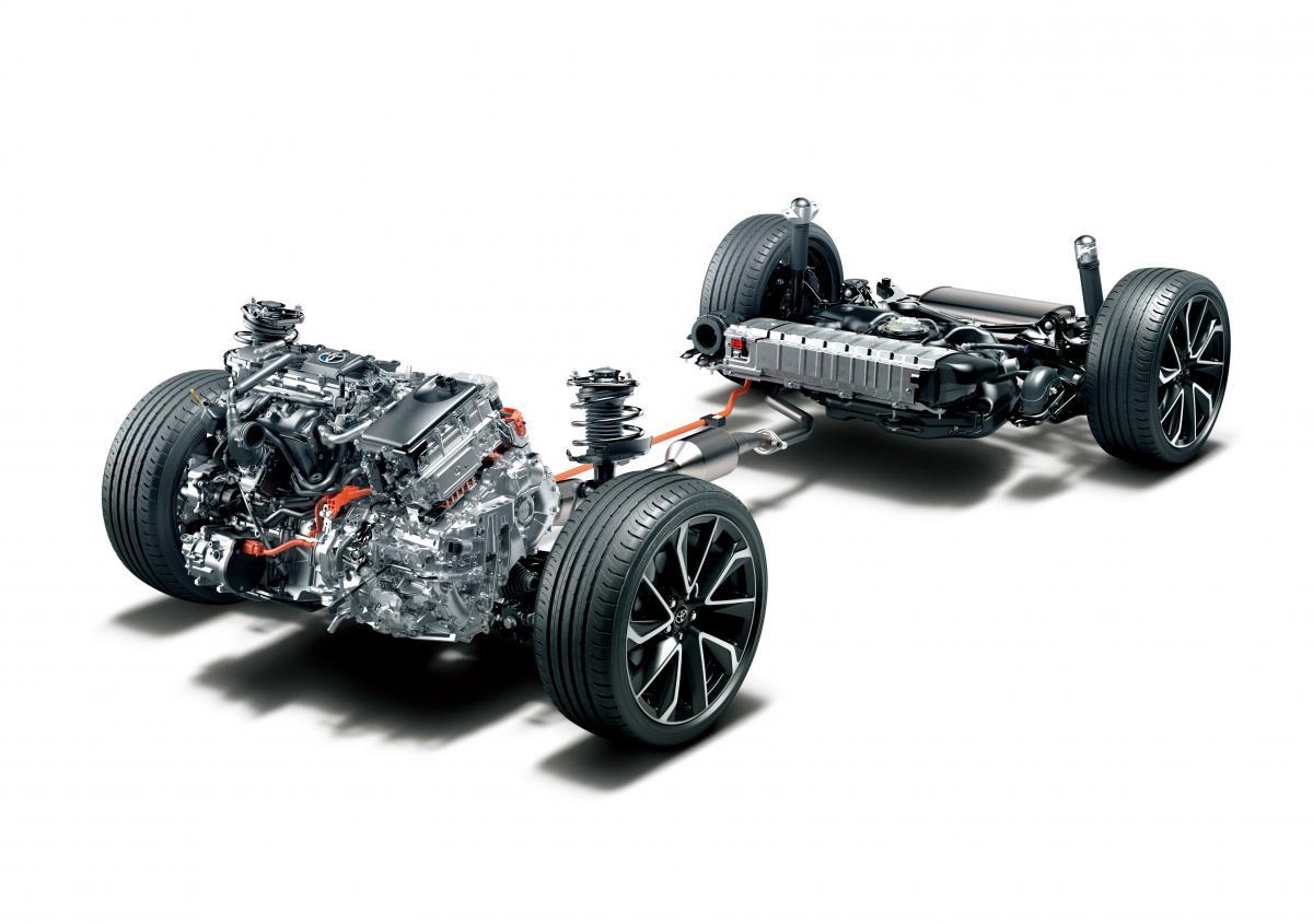 Podvozek nového modelu Toyota Corolla Sport