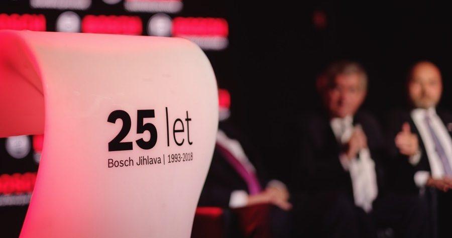 Firma Bosch oslavila 25 let fungování v Jihlavě