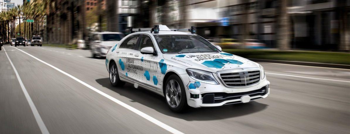 Automatická služba spolujízdy od firmy Bosch a Daimler