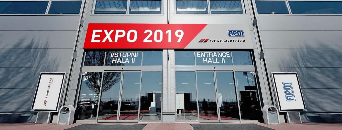 Veletrh EXPO 2019 od APM a Stahlgruberu