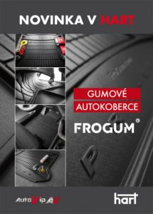 Autokoberce Frogum nově v nabídce firmy HART