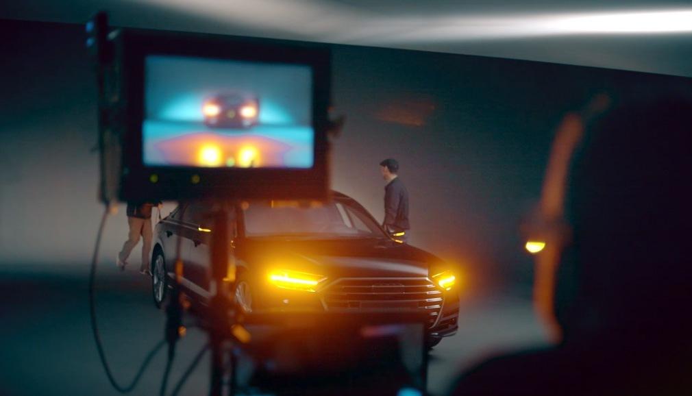 Film firmy Hella o osvětlení pro novou Audi A8