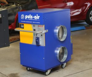 Mobilní vytápění Puls Air je k dostání výhradně u společnosti IHR-TECHNIKA