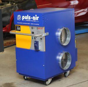 Mobilní topení Puls Air u společnost IHR-Technika
