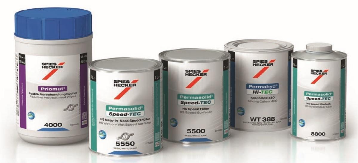 Permasolid® Speed-TEC HS Wet-on-Wet Speed Surfacer 5550 u Interaction