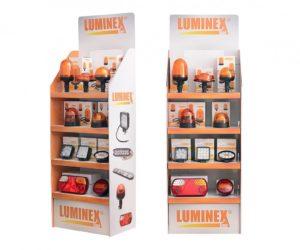 Kartonový display LuminexLine míří na prodejny
