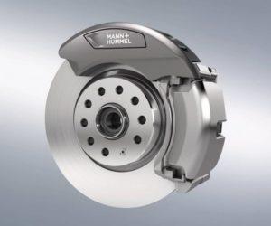 Úspěšný test filtru částic brzdového prachu od společnosti Mann + Hummel