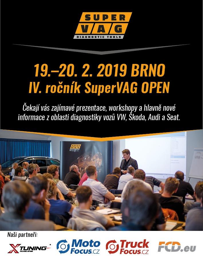 Pozvánka na školení SuperVAG OPEN 2019