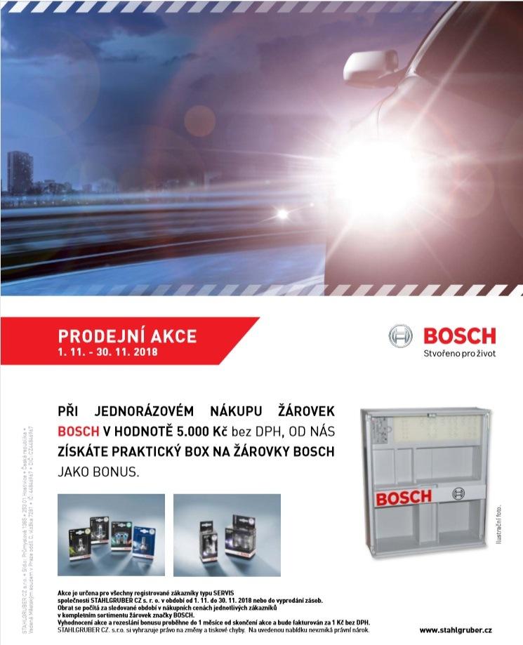 Praktický box při nákupu žárovek Bosch u Stahlgruber