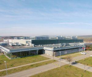 Firma Valeo buduje novou výrobní halu v Žebráku