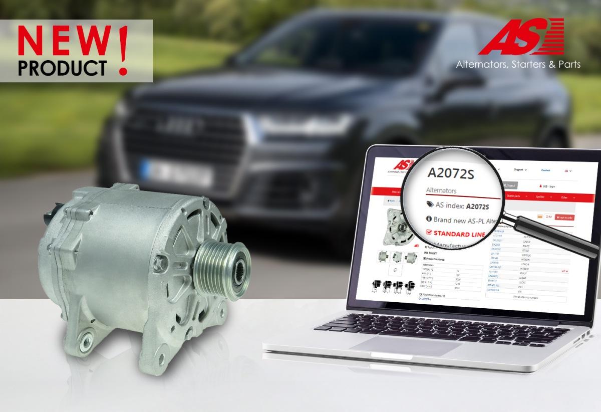 Nový alternátor AS-PL A2072S pro Audi