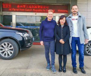 Společnost Ferdus absolvovala svou obvyklou cestu do Číny