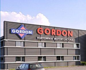 Sídlo společnosti Gordon