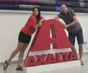 Zástupci firmy Interaction navštívili pobočku Axalta FZE v Dubaji