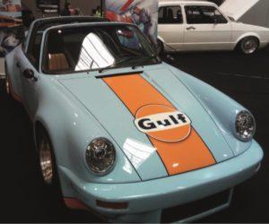 Interaction: Průběh renovace v rámci projektu Porsche 911