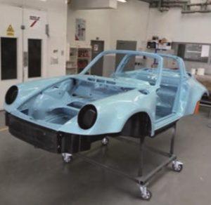 Lakování exteriéru Porsche 911 u Interaction