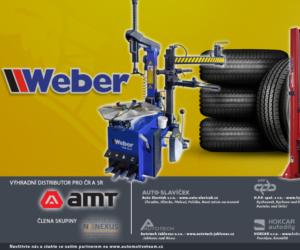Nabídka firmy WEBER nově v portfoliu partnerů sítě AMT