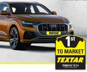 Brzdové destičky Textar pro Audi Q8