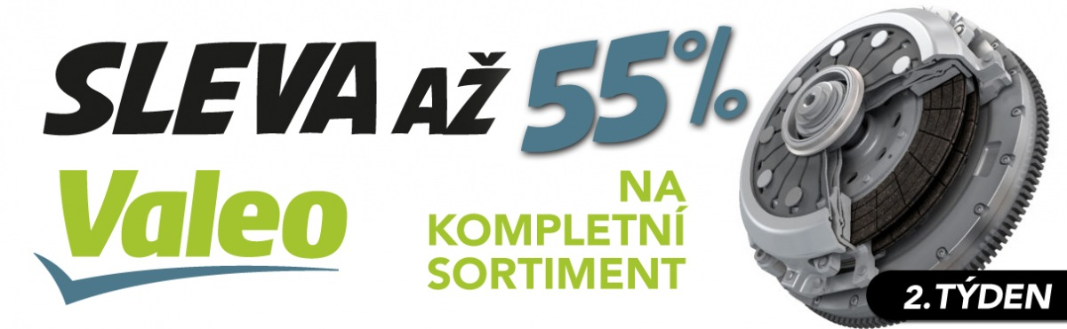 J+M Autodíly: Až 55% sleva na kompletní sortiment Valeo