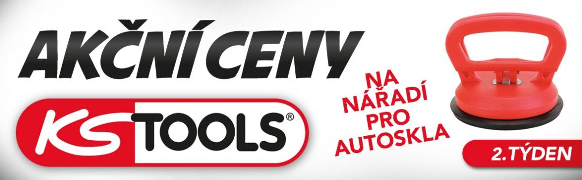 Sleva na nářadí KS Tools pro autoskla u J+M Autodíly