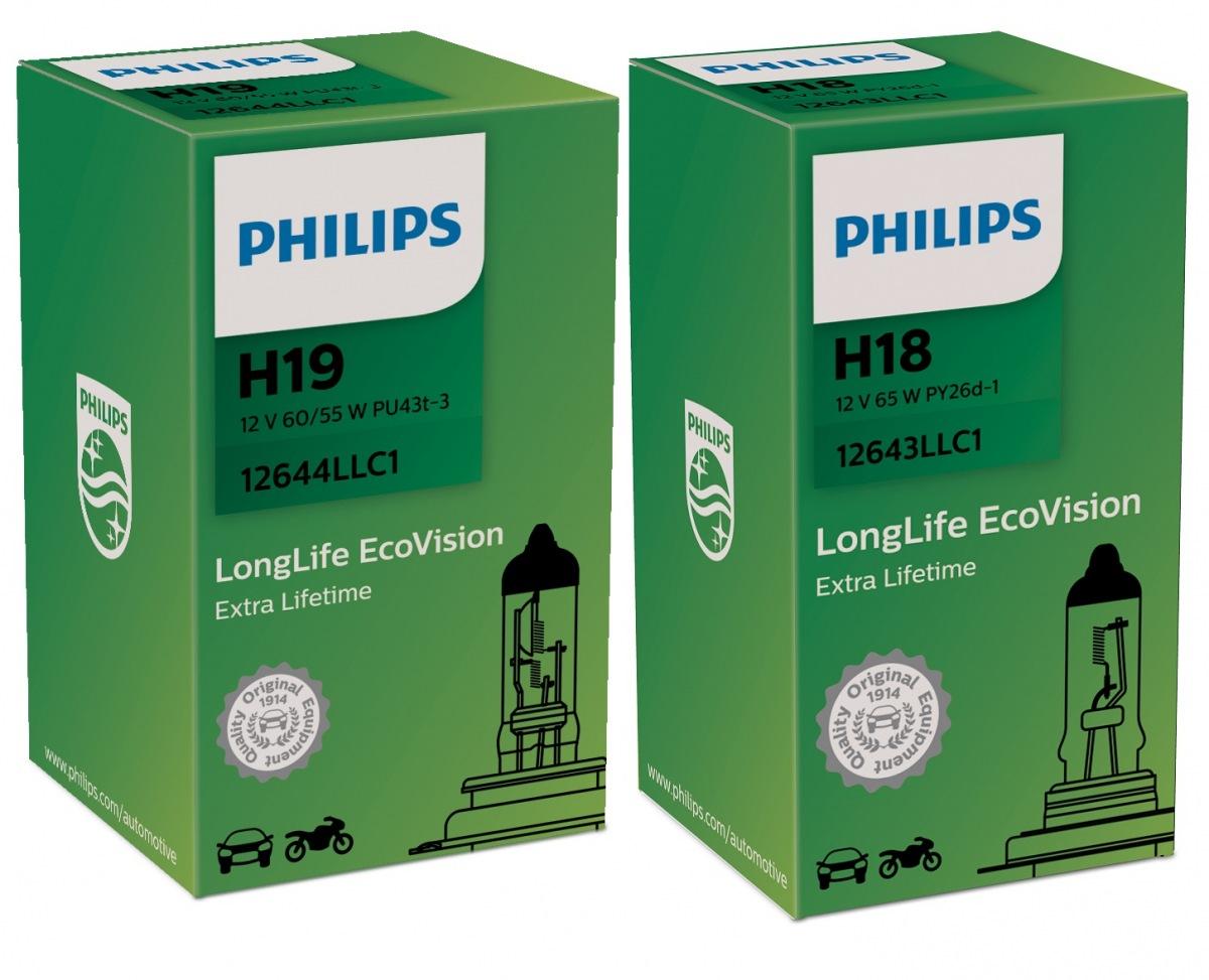 Nová kvalita halogenových žárovek značky Philips H18 a H19