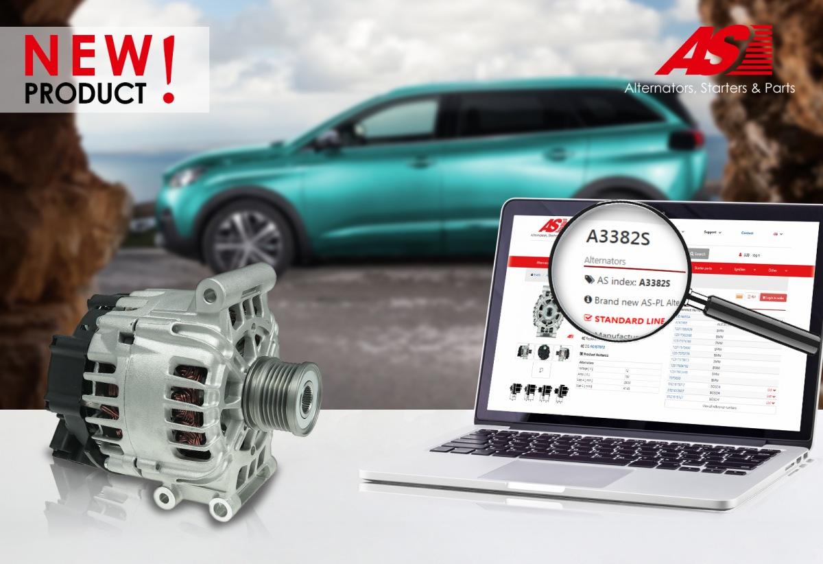 Nový alternátor pro Citroen/Peugeot od AS-PL