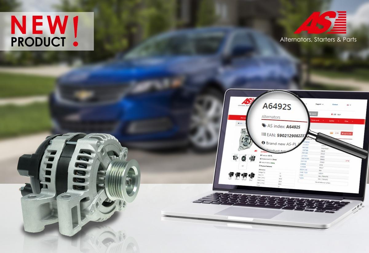 Nový alternátor AS-PL pro Chevrolet a Suzuki