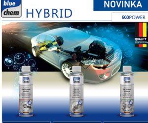 Čističe pro motory s hybridní technologií BLUECHEM ECOPOWER HYBRID
