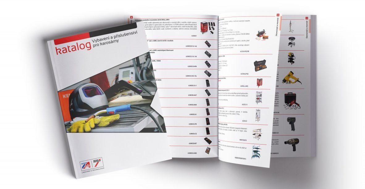 První ucelený katalog vybavení a příslušenství pro karosárny od Interaction