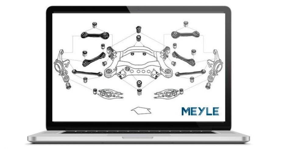 Meyle usnadňuje identifikaci dílů pro servisy: