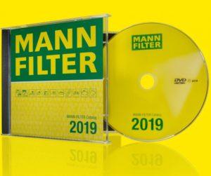Nový katalog MANN-FILTER dostupný na DVD