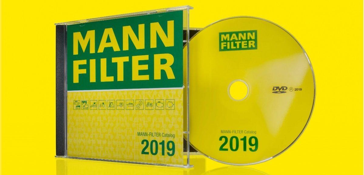 Katalog MANN-FILTER 2019 na DVD