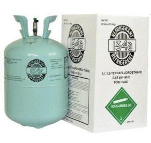 Nevratná lahev chladiva R134a