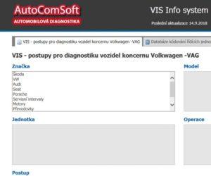 Příručka VIS je nyní také v on-line verzi