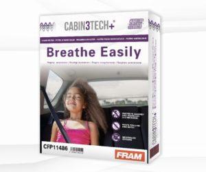 Nové kabinové filtry Cabin3Tech+ od Sogefi