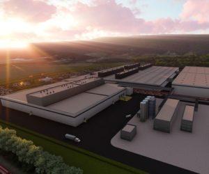 Stavba továrny Nokian Tyres v Americe významně pokročila