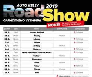 Auto Kelly: RoadShow garážového vybavení 2019