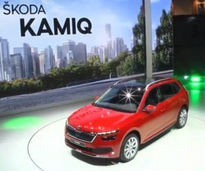 Živý přenos představení Škody SUV Kamiq v Ženevě