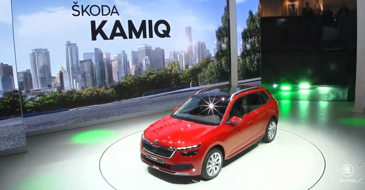 Škoda Kamiq na prezentaci v Ženevě