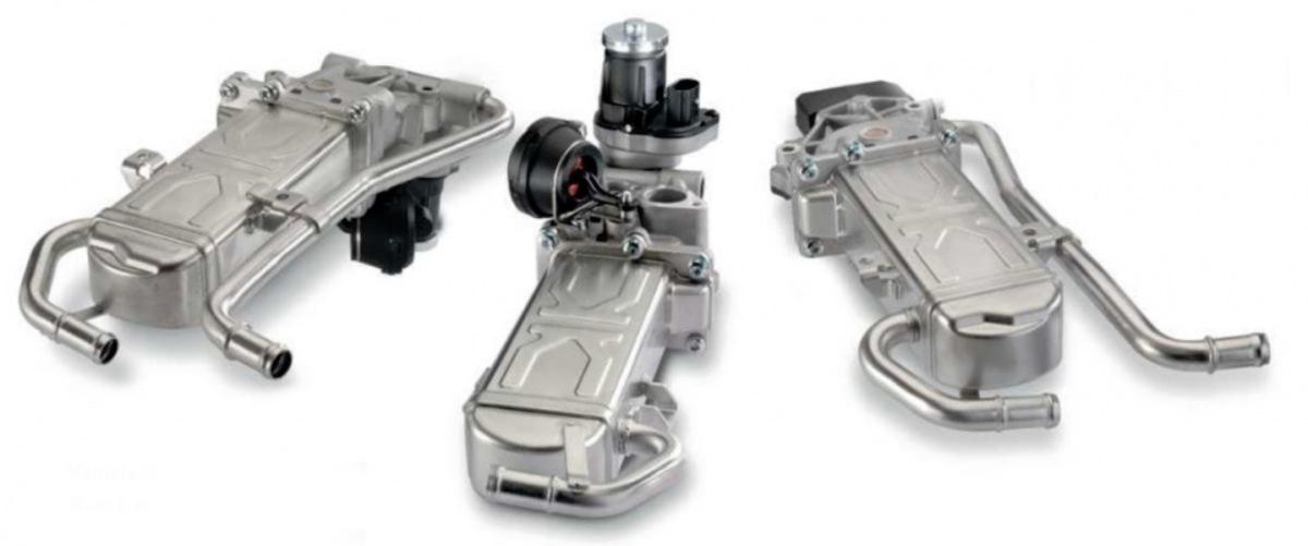 Tři nové AGR chladiče Pierburg u KS Motor