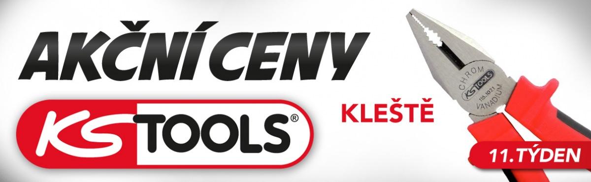 Akční ceny KS Tools na kleště u J+M Autodíly