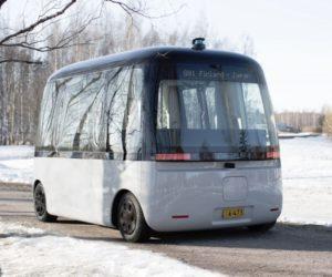 Celosvětově první autonomní autobus do každého počasí jezdí na pneumatikách Nokian Hakkapeliitta
