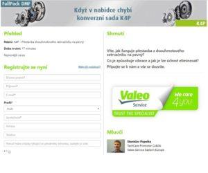Online školení Valeo zdarma