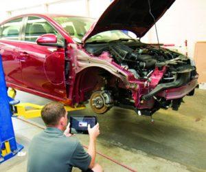 Systém certifikovaných oprav vozidel po dopravních nehodách