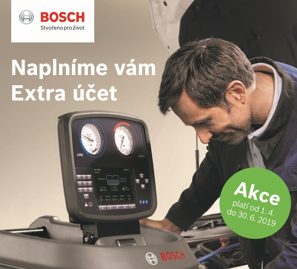 Bosch: Naplníme vám Extra účet