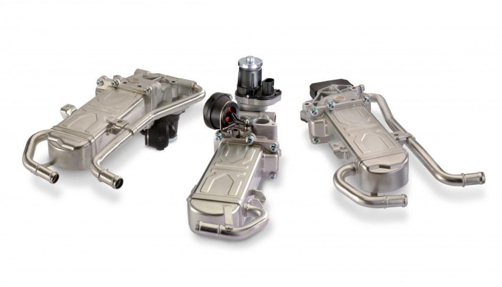 Tři nové moduly chladiče recirkulace výfukových plynů (EGR) od Motorservice