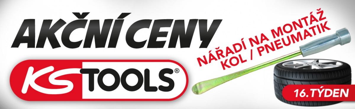 Akční ceny na nářadí na montáž kol a pneumatiky značky KS Tools u J+M Autodíly