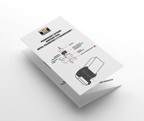 Výrobky firmy TEDGUM obsahují návod