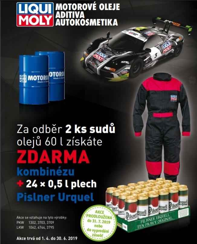 K produktům Liqui Moly dárky zdarma u WM Autodíly